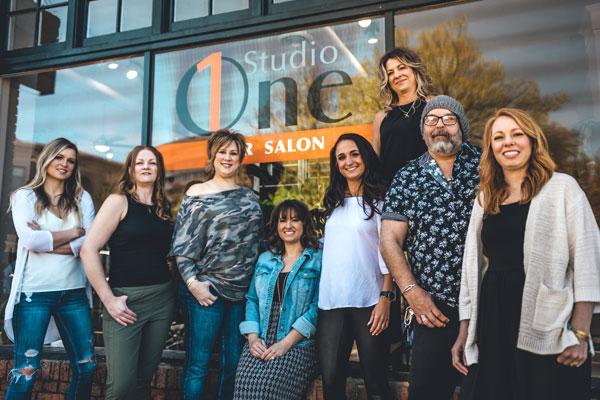 Studio One Spokane Salon Team